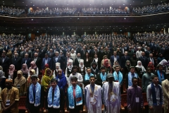 Türkiye Diyanet Vakfı tarafından Beştepe Millet Kongre ve Kültür Merkezi'nde Uluslararası 4. İyilik Ödülleri Programı düzenlendi. ( Cumhurbaşkanlığı/Murat Çetinmühürdar - Anadolu Ajansı )