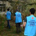 Türkiye'den eve mahkum Kırgız hastalara kurban yardımı