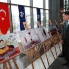 Uluslararası Çizgilerle Yemen sergisi Yozgat'ta açıldı