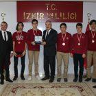 Bornova Koleji öğrencileri TÜBİTAK yarışmalarında 5 madalya kazandı