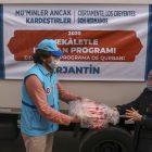 TDV, Arjantin'de kurban eti dağıttı