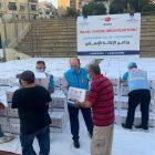TDV ve DİTİB Beyrut'ta ihtiyaç sahiplerinin yaralarını sarıyor