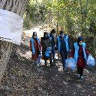 TDV genç gönüllülerinden anlamlı doğa yürüyüşü