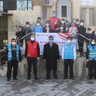 Gaziantep'te 400 ihtiyaç sahibi çocuğa kışlık kıyafet yardımı yapıldı