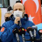 Kayseri'den Suriye'ye 6 tır yardım malzemesi gönderildi