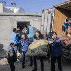 Din görevlileri ve hayırseverlerden iyilik konutları için 2 milyon 400 bin liralık bağış