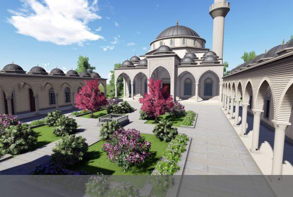 Kırgızistan Özgen İmam Serahsi Külliyesi