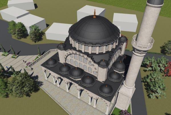 Makedonya Üsküp Camii