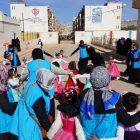 Gönüllülerden İdlib'deki savaş mağdurlarına destek ziyareti