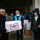Bosna Hersek'te ihtiyaç sahibi ailelere gıda yardımı ulaştırıldı
