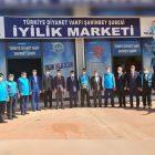 """Gaziantep'te """"İyilik Marketi"""" dualarla açıldı"""