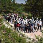 Eskişehir'de TDV Gönüllüleri doğa yürüyüşünde bir araya geldi