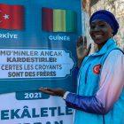 Gineli kadın basketbolcu Batouly Camara yardımları için Türkiye'ye teşekkür etti