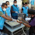 TDV, sel felaketinin yaşandığı Bozkurt'ta 1 haftada 20 bin kişilik yemek dağıttı