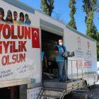 İzmir'den yaraları sarmak için Bozkurt'a gelen gönüllü bir aydır gece gündüz çalışıyor