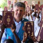 TürkiyeDiyanetVakfıÇad'da Kur'an-ı Kerim dağıttı